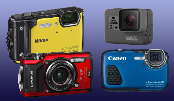 Compact Cameras For Scuba Diving